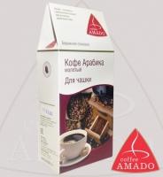 "Кофе AMADO ""Арабика"" молотый для чашки Арабика 100%"