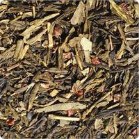 """Чай TEA-CO """"Земляника со сливками"""" зеленый Китайский с добавками"""