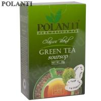 """Чай POLANTI """"GREEN tea Soursop"""" зелёный Цейлонский с фруктом Саусепа"""