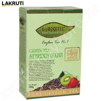 """Чай LAKRUTI """"Strawberry & KIWI"""" зелёный  Цейлонский Клубника с Киви"""