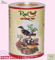 """Чай Real """"Райские Птицы"""" O.P. чёрный байховый, (овал,б) Цейлонский крупнолистовой"""