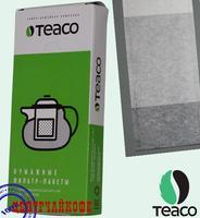 TEA-CO Фильтр-пакеты для рассыпного чая, из тонкой пористой бумаги: упаковка 100 шт