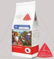 """Кофе AMADO """"Ява"""" Индия и Индонезия в зернах Арабика 100%"""