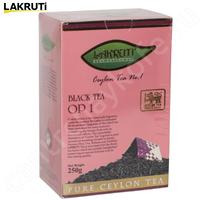 Чай LAKRUTI OP 1 чёрный Цейлонский элитный байховый 250 г