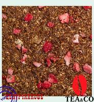 """Чай TEA-CO """"Ройбуш Клубника со сливками"""" Южно-Африканский с ананасом и клубникой"""