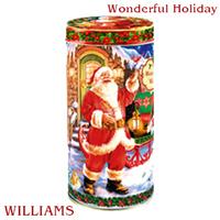 """Чай WILLIAMS """"Wonderful Holiday"""" """"Прекрасный праздник"""" зеленый Цейлонский с кусочками тропических фруктов, уп. в ж/б 125 г"""