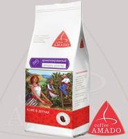 """Кофе AMADO """"Миндаль с шоколадом"""" ароматизированный в зернах"""