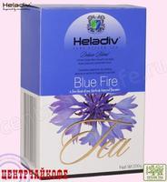 """Чай Heladiv """"Black Tea Blue Fire"""" """"Синий огонь"""" чёрный Цейлонский FBOP с Василёк, Мята и Гуава"""