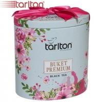"""Чай TARLTON """"BUKET PREMIUM"""" """"Букет Премиум"""" чёрный FBOP Цейлонский с типсами без добавок в ж/б 100 г"""