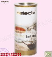 """Чай Heladiv """"Black Tea Earl Grey"""" чёрный Цейлонский среднелистовой с бергамотом (туба) 100 г"""