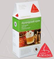 """Кофе AMADO """"Ирландский крем"""" десертный, в зернах и молотый Арабика 100%"""