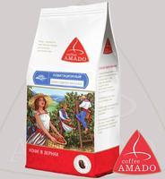 """Кофе AMADO """"Марагоджип Мексика"""" экзотический сорт в зернах Арабика 100%"""