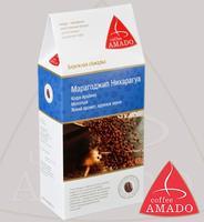 "Кофе AMADO ""Марагоджип Никарагуа"" молотый в коробке Арабика 100%"