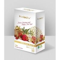 """Чай Heladiv """"Merry Christmas"""" """"С Новым Годом !"""" черный Цейлонский листовой Pekoe - Пеко 100 г"""