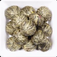 """Чай K&S """"Персик бессмертия"""" Китайский вязанный с цветами жасмина"""