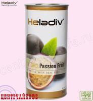 """Чай Heladiv """"Black Tea Passion Fruit"""" черный с Маракуей (туба) 100 г"""