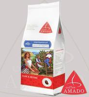 """Кофе AMADO """"Танзания Пиберри"""" зерно Peaberry - плантационный Арабика 100%"""